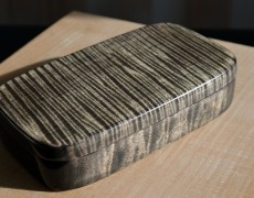 flamed maple box